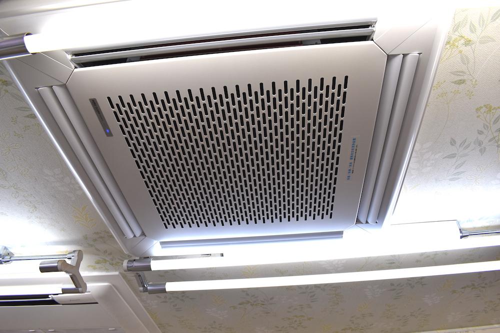 高性能空気清浄機でウイルス除去!